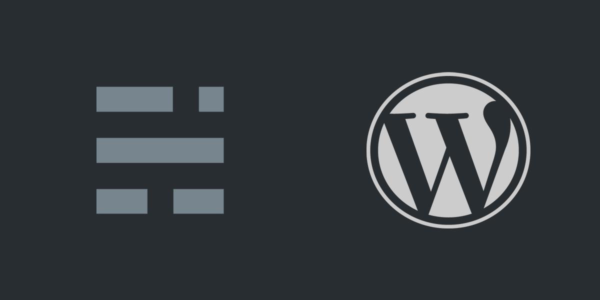 Wordpress > Ghost