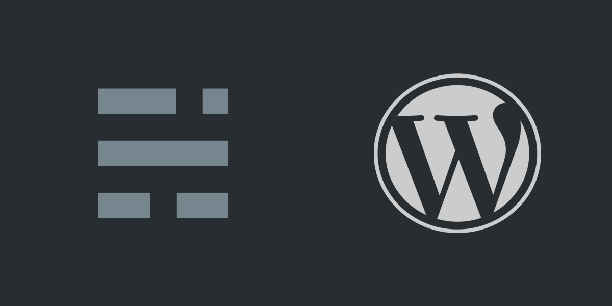 Wordpress > Ghost